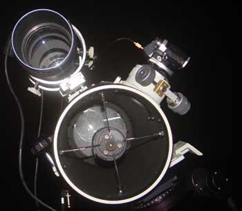 Telescope with Refracting Guidescope